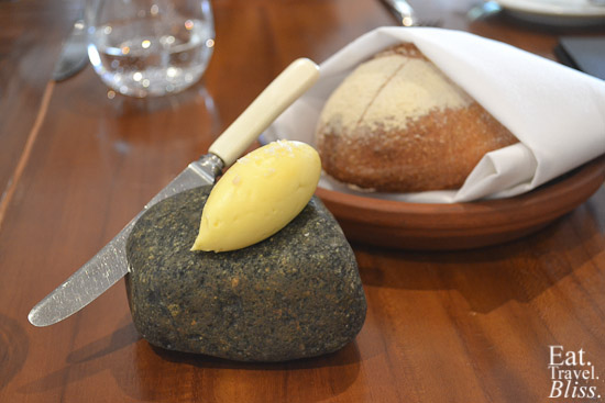house baked rye with house smoked cultured butter