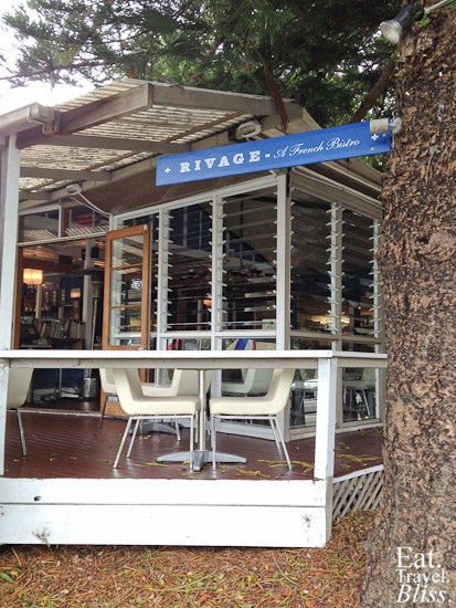 Bistro Rivage - outside 1