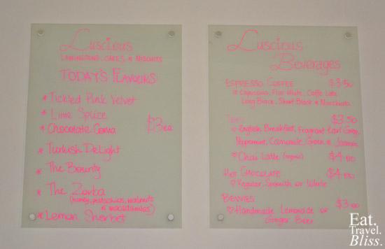LusciousKikis - menu