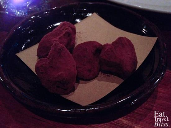 Mexicano - chocolate truffles