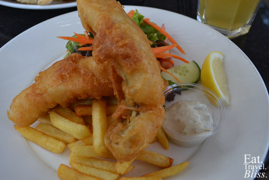 Patonga - fish & chips
