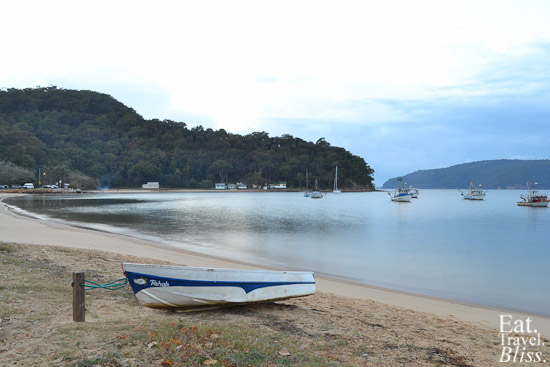 Patonga - beach on sunrise