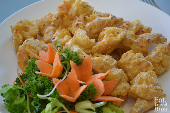 Mr Chow's Salted Egg Prawns