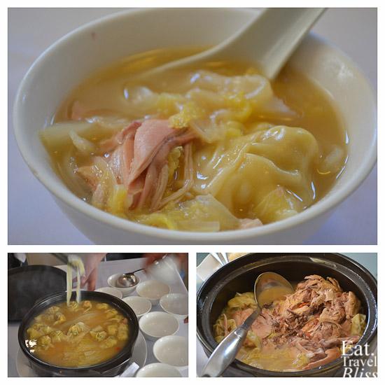 Mr Chow's Wonton Soup