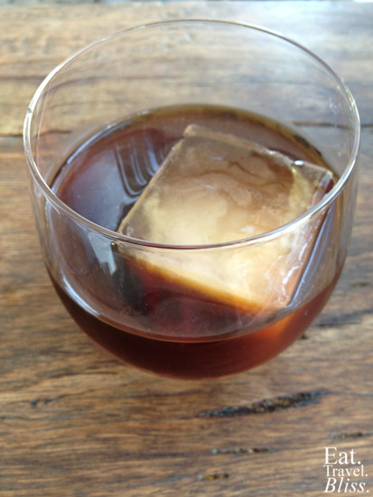 The Baron - cold brewed coffee