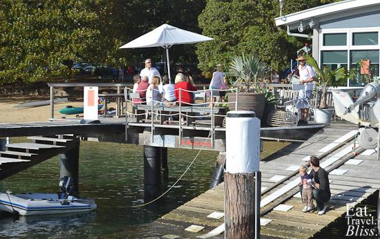 Balmoral Boatshed - back