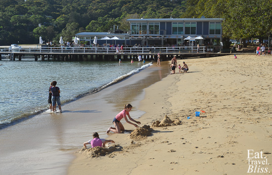 Balmoral Boatshed - beach