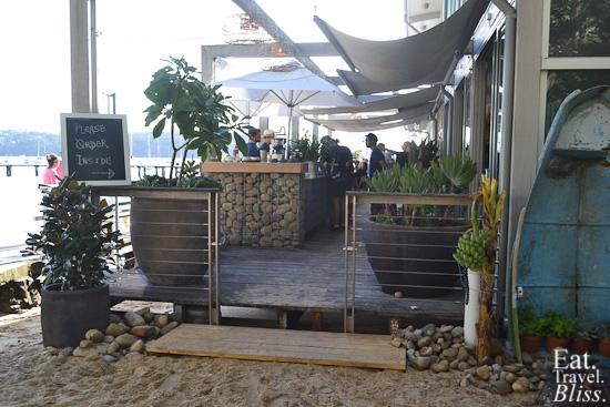 Balmoral Boatshed - front