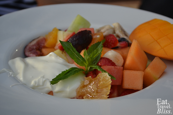 Balmoral Boatshed - fruit salad