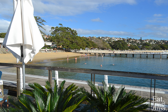Balmoral Boatshed - view