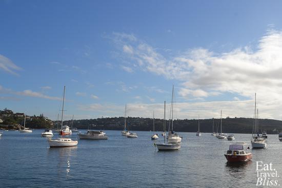 Balmoral Boatshed - view