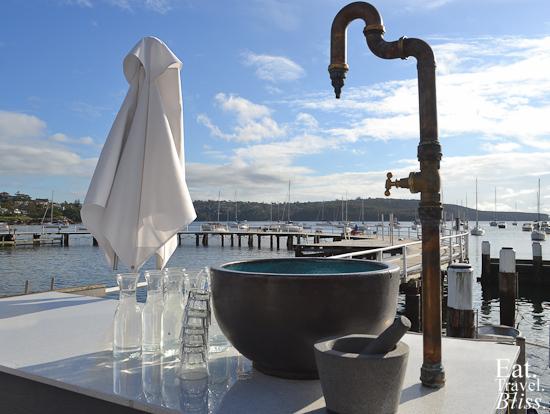 Balmoral Boatshed - water